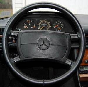 Wheelskins Leather Steering Wheel Cover Black 1997 2006 Jeep Wrangler