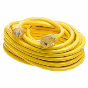 Yellow Jacket 2992 Sjtw Extension Cord With Powerlite T blade Indicator Plug 3