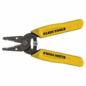 Klein Tools 11048 Wire Cutter stripper 10 12 14 Awg 6 1 4 In Oal Black Oxid