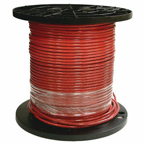 Southwire 8red strx500 Stranded Single Building Wire 8 Awg 500 Ft 30 Mil Thhn