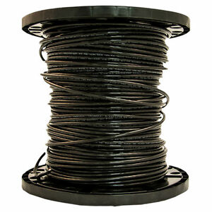 Southwire 8blk strx500 Stranded Single Building Wire 8 Awg 500 Ft 30 Mil Thhn