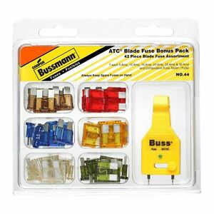 Bussmann No 44 Automotive Fuse Kit 43 Pieces