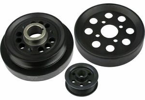 Steeda Mustang Underdrive Pulleys For 1996 99 Ford Mustang Cobra