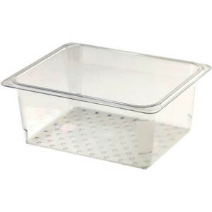Cambro Perforated Pan Colander 1 2 Gn 5 Deep 6pk Clear 25clrcw 135