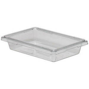 Cambro 1 75 Gal Food Storage Boxes Camwear 6pk Clear 12183cw 135