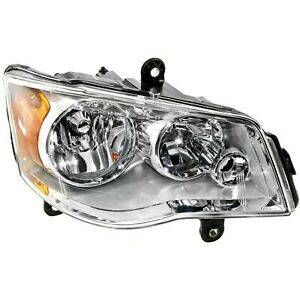 Headlight For 2008 2016 Chrysler Town Country 11 18 Dodge Grand Caravan Right