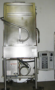 Hobart Tall Boy Commercial Pass Through Corner Dishwasher With High Temp Booster