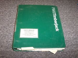 Timberjack 618 Feller Buncher Harvester Original Parts Catalog Manual 214 1626 1