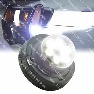 Ems Police Firefighter Personal Vehicle 6w Led Hide away Warning Light white