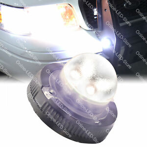 4w White Led Hideaway Strobe Lights For Cars Trucks Emergency Warning Vehicles