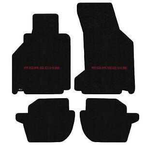 Lloyd Mats Ultimat 4 Piece Floor Mat Set Black 2002 2005 Porsche 911 996 Targa