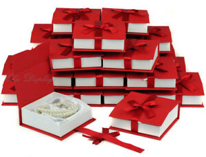 Lot Of 24 Bangle Bracelet Box Bangle Red Watch Box Red Jewelry Gift Box Deal
