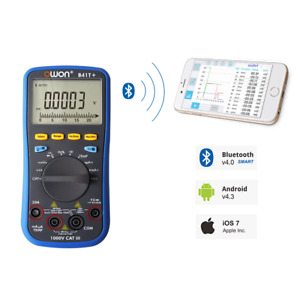 Owon B41t True rms Ac dc Datalogging Digital Multimeter 750vac 1000vdc Bluetoot