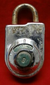 544517 8077a Sargent And Greenleaf Inc 1986 Old Heavy Duty Combination Lock