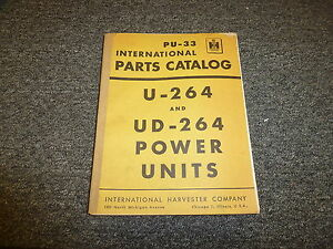 International Harvester Ih T6 Td6 Crawler Tractor Parts Catalog Manual Tc 23c