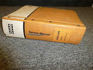 Case 310g 350 Crawler Dozer Bulldozer 188 207 Engine Shop Service Repair Manual