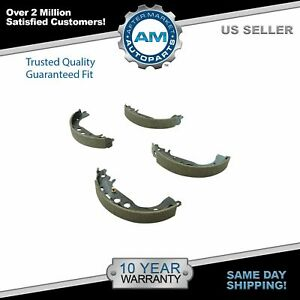 Drum Brake Shoe Rear Set Direct Fit For Scion Xa Xb Toyota Corolla Brand New