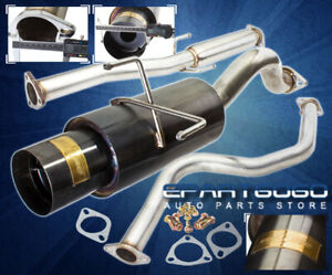 92 95 Civic Eg 3dr Hatch Jdm 3 Stainless Piping Catback Exhaust System 4 5 Tip