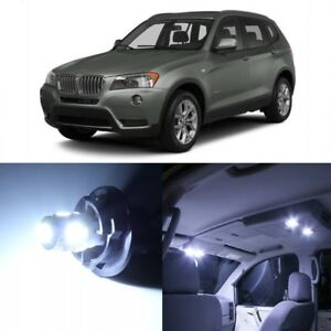 16 X Error Free White Led Interior Light Kit For 2011 2015 Bmw X3 Series Tool