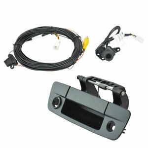 Rear View Camera Add On Kit W Wiring Harness Tailgate Handle For Dodge Pickup