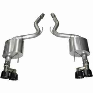 Corsa Exhaust System New Coupe Ford Mustang 2015 2017 14334blk