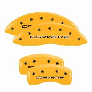 Mgp Set Of 4 Brake Caliper Covers Front Rear Driver 13008scv6yl