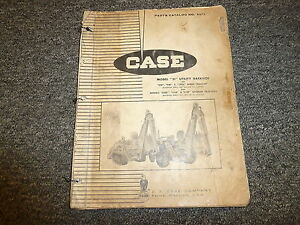 Case 31 Utility Backhoe For 310d 310e 310f Crawler Tractor Parts Catalog Manual