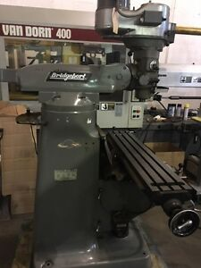 Used Bridgeport Series I Conventional Knee Mill Pristine 2000