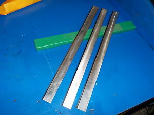 Planer Knives Set Of Three Great Shape Fresh Sharpened Razor Sharp 380mm