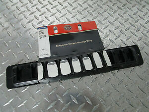 Harley Davidson Magnetic Socket Storage Tray