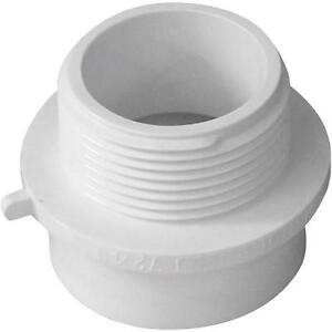 100 Pk Genova Pvc Sch 40 Pipe 1 1 2 Spg X 1 1 4 Mip Male Fitting Adapter 72411