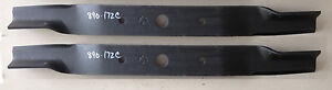 Set Of 2 Blades For Land Pride 48 Cut Fd2548 Finish Mowers Code 890 172c