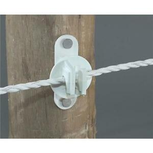 20 Pk Dare Nail On Wood Post Polyrope Electric Fence Insulator 25 pk Snug htw