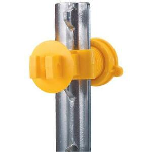 3 Pk Dare Western T post Screw On Electric Fence Insulator 25 pk 2193 25
