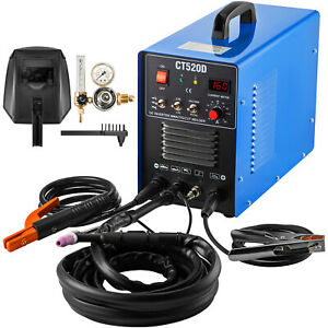 Vevor Plasma Cutter Ct520d 50a 200a Tig Arc Stick Welder 110 230v Dual Voltage