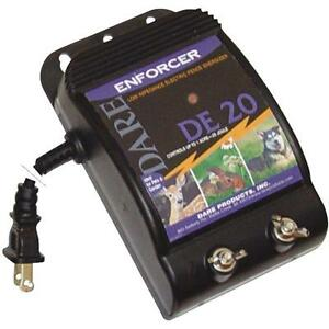 Dare 110v Enforcer 3 X 7 1 2 X 5 1 2 Electric Fencer Fence Charger De20