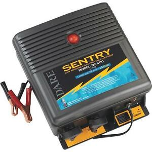 Dare 6v To 12v Sentry 100 Acre Electric Fencer Fence Charger Ds400