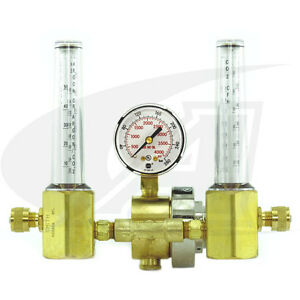 Smith Dual Precision Series Flowmeter regulator