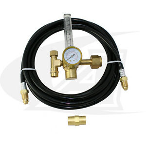 Low cost Co2 Flow Meter regulator With Gas Hose kit