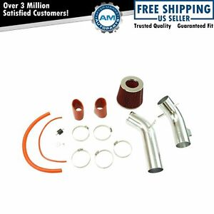 Performance Cold Air Intake Cai System Kit Red Filter For Mazda 6 2 3l New
