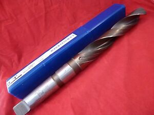 Bct Oil Coolant Fed 1 5 16 Cobalt Chipbeaker Drill Bit 4 Morse Taper 1813114 co