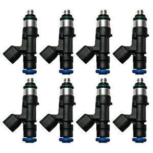New Ford Racing 52 Lb hr Fuel Injector Set M 9593 mu52
