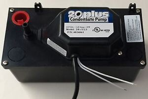 Condensate Pump 20 uls Multi purpose 521 With Safety Switch 115 Volt Ac New