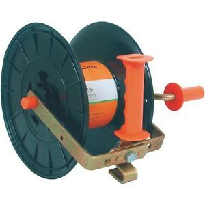 2 Pk Gallagher Electric Fence Wire Reversible Hub Roll Up Reel G61600