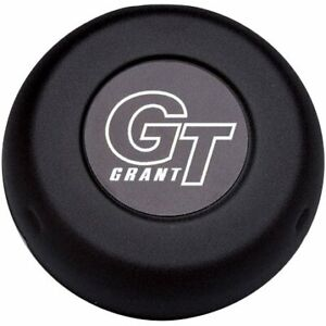 Grant Horn Button Steel Black Gt Emblem For Challenger Classic Series Ea 5897