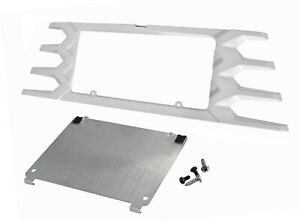 2015 2017 Ford Mustang Custom Painted Rear License Plate Frame Oxford White Yz