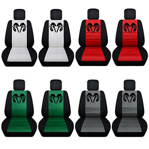 2012 To 2017 Dodge Ram Seat Covers Side Airbag Friendly 21 Color Options