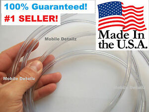 Trim Protector Car Truck Suv Made In The Usa 15 Clear Door Edge Guards