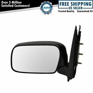 Manual Side View Door Mirror Driver Side Left Lh For 00 05 Toyota Echo New