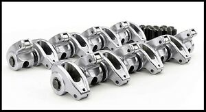 Sbc Chevy Comp Cams High Energy Aluminum Roller Rockers 1 6 3 8 S 17002 16